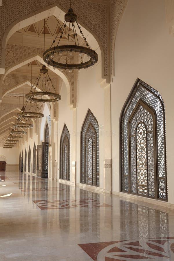 Κρατικό μεγάλο μουσουλμανικό τέμενος του Κατάρ, Doha στοκ φωτογραφία