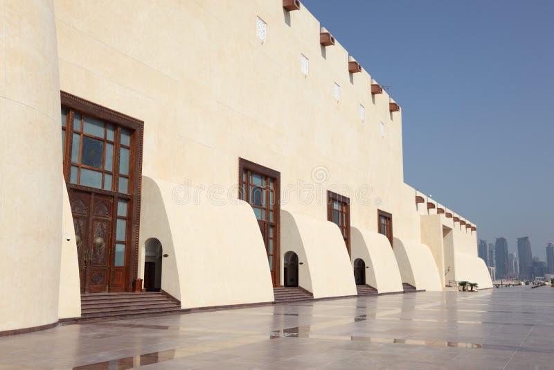 Κρατικό μεγάλο μουσουλμανικό τέμενος του Κατάρ, Doha στοκ φωτογραφίες με δικαίωμα ελεύθερης χρήσης