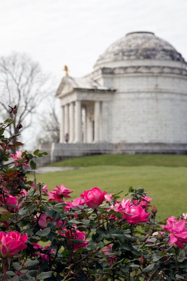 Κρατικό μνημείο του Ιλλινόις εμφύλιου πολέμου στοκ φωτογραφίες