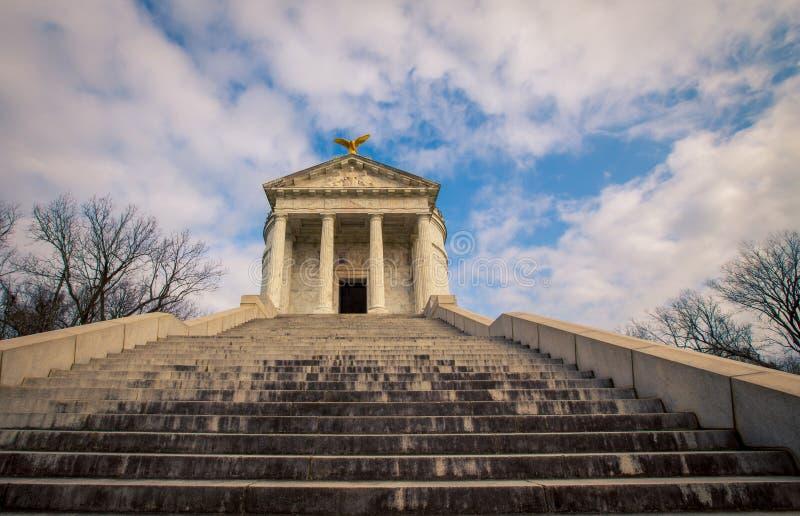 Κρατικό μνημείο του Ιλλινόις σε Vicksburg στοκ εικόνες με δικαίωμα ελεύθερης χρήσης