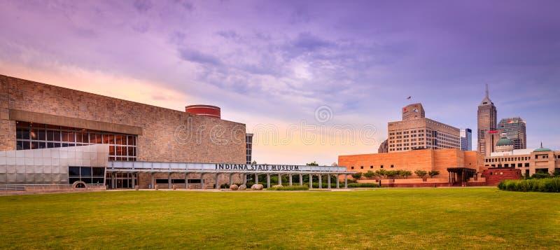 Κρατικό μουσείο της Ιντιάνα στοκ φωτογραφία με δικαίωμα ελεύθερης χρήσης