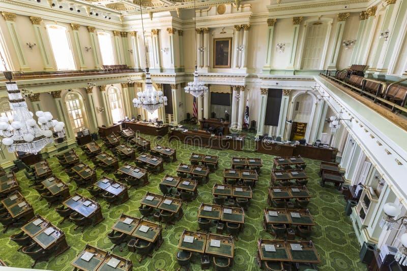 Κρατικό νομοθετικό σώμα Καλιφόρνιας στοκ εικόνες