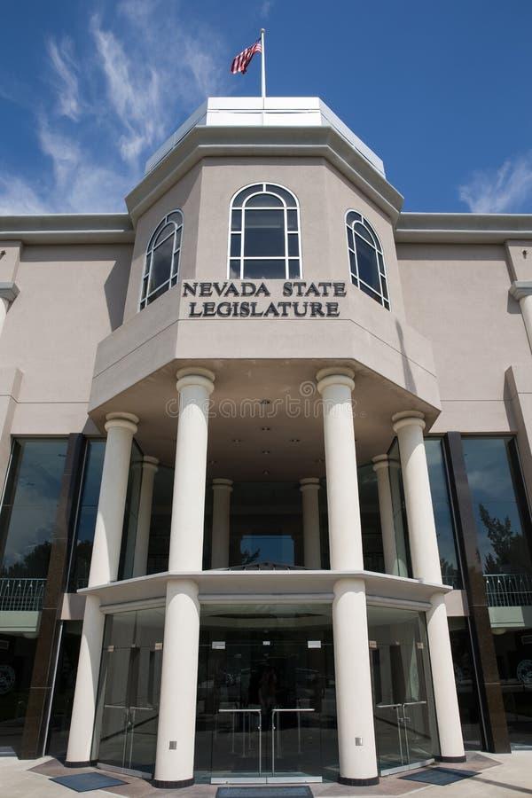 Κρατικό νομοθετικό σώμα της Νεβάδας στοκ εικόνες με δικαίωμα ελεύθερης χρήσης