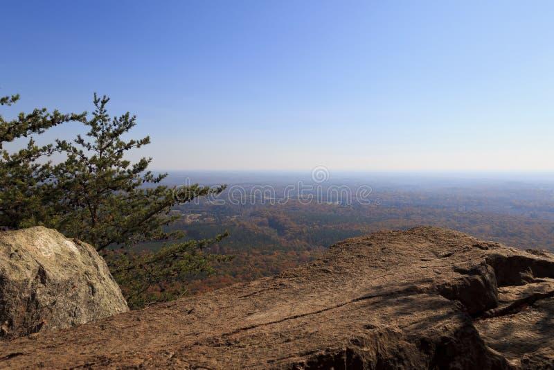 Κρατικό πάρκο βουνών Crowders στοκ φωτογραφίες