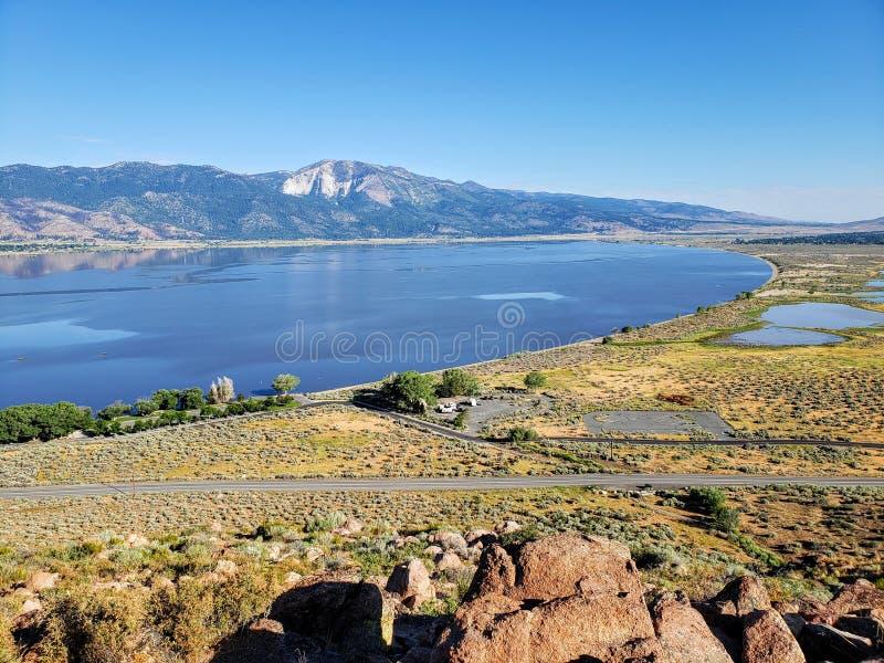 Κρατικό πάρκο λιμνών Washoe έξω από την πόλη του Carson, Νεβάδα στοκ φωτογραφίες