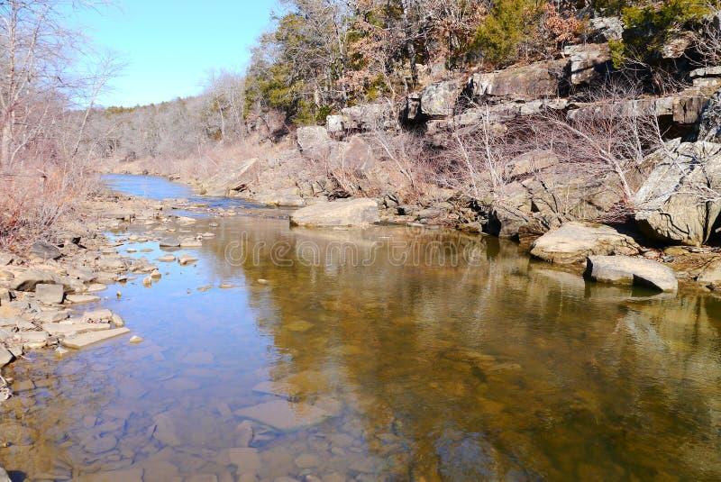 Κρατικό πάρκο λόφων Osage στοκ φωτογραφίες