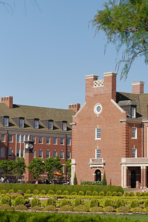 Κρατικό πανεπιστήμιο της Οκλαχόμα στοκ εικόνες