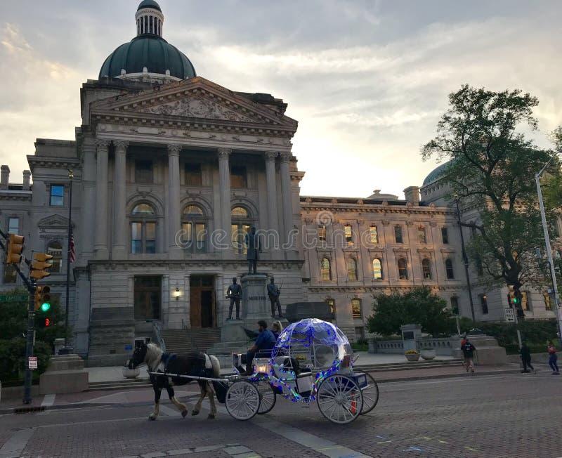 Κρατικό capitol της Ιντιάνα στοκ εικόνα με δικαίωμα ελεύθερης χρήσης