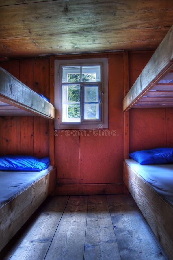 Κρεβάτια κουκετών στοκ εικόνα
