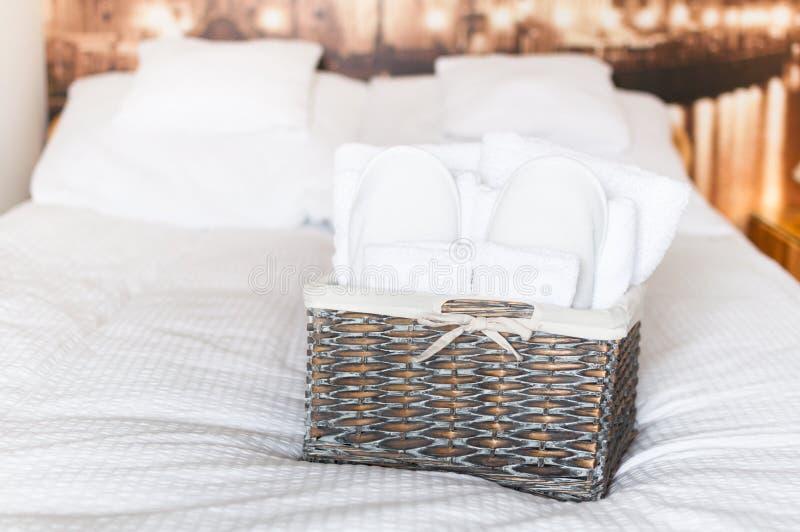 Κρεβατοκάμαρα ξενοδοχείων στοκ φωτογραφία με δικαίωμα ελεύθερης χρήσης