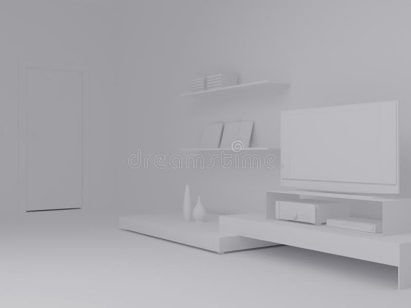 κρεβατοκάμαρα τρία λευ&kapp διανυσματική απεικόνιση