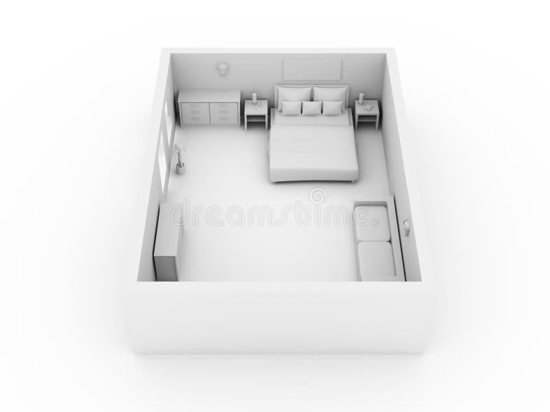 Download κρεβατοκάμαρα απεικόνιση αποθεμάτων. εικονογραφία από συρτάρι - 13188530