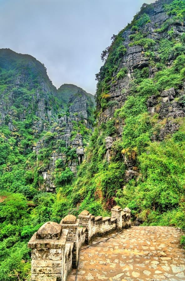 Κρεμάστε Mua την άποψη σε Trang, Βιετνάμ στοκ φωτογραφία με δικαίωμα ελεύθερης χρήσης