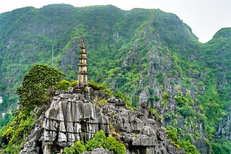 Κρεμάστε Mua την άποψη σε Trang, Βιετνάμ στοκ φωτογραφίες με δικαίωμα ελεύθερης χρήσης