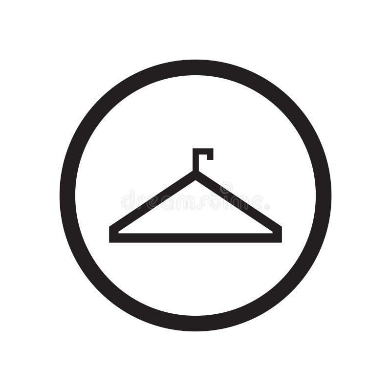 Κρεμαστρών ετικετών σημάδι και σύμβολο εικονιδίων διανυσματικό που απομονώνονται στο άσπρο υπόβαθρο, έννοια λογότυπων ετικετών κρ απεικόνιση αποθεμάτων