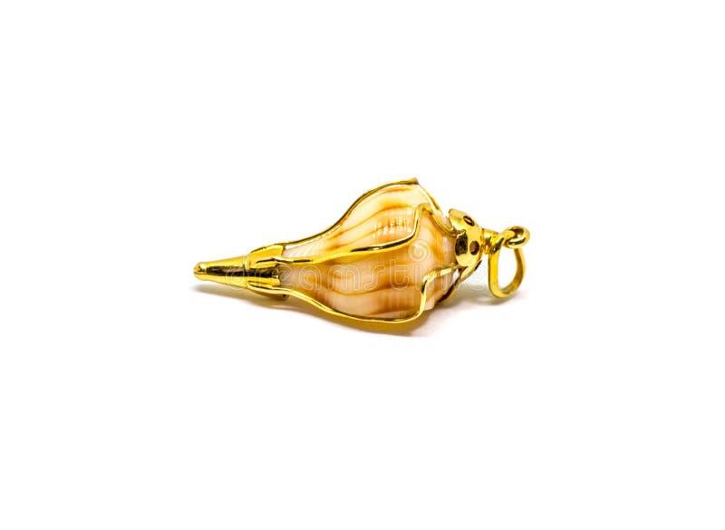 Κρεμαστό κόσμημα κοχυλιών Conch στοκ φωτογραφία με δικαίωμα ελεύθερης χρήσης
