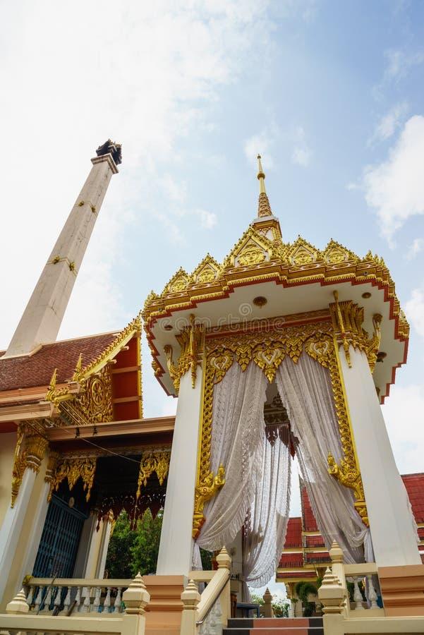 Κρεματόριο για τους Βουδιστές στοκ φωτογραφία με δικαίωμα ελεύθερης χρήσης