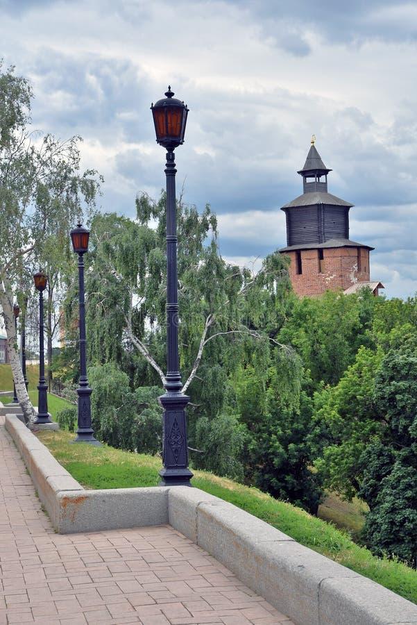 Κρεμλίνο σε Nizhny Novgorod, Ρωσία στοκ εικόνα με δικαίωμα ελεύθερης χρήσης