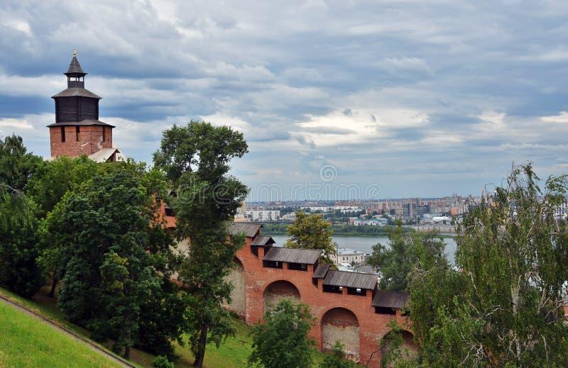 Κρεμλίνο σε Nizhny Novgorod, Ρωσία στοκ εικόνες
