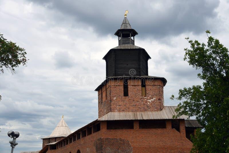 Κρεμλίνο σε Nizhny Novgorod, Ρωσία στοκ φωτογραφίες