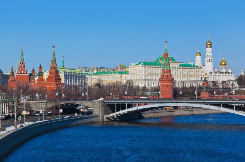 Κρεμλίνο στη Μόσχα (Ρωσία) στοκ εικόνα με δικαίωμα ελεύθερης χρήσης