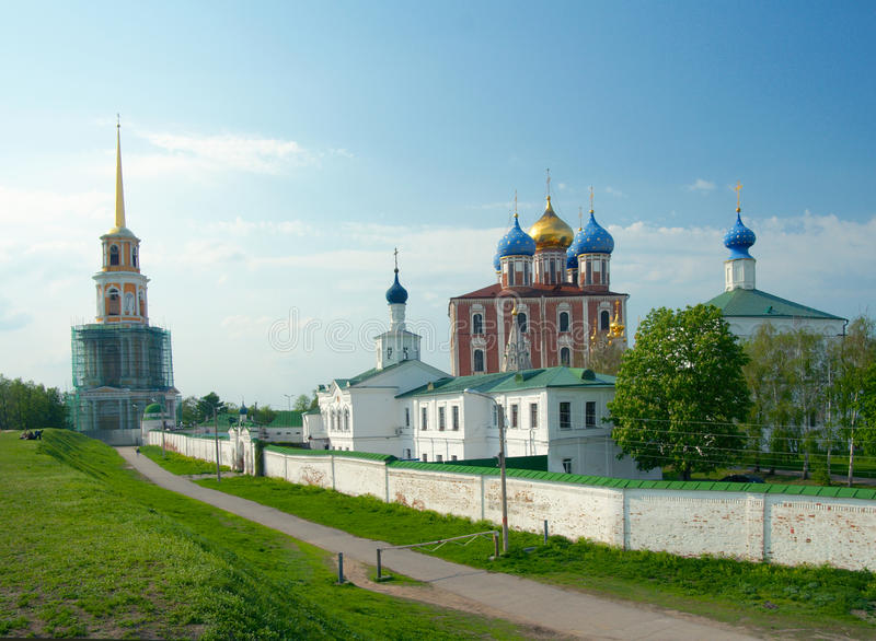 Κρεμλίνο Ryazan στοκ φωτογραφίες με δικαίωμα ελεύθερης χρήσης