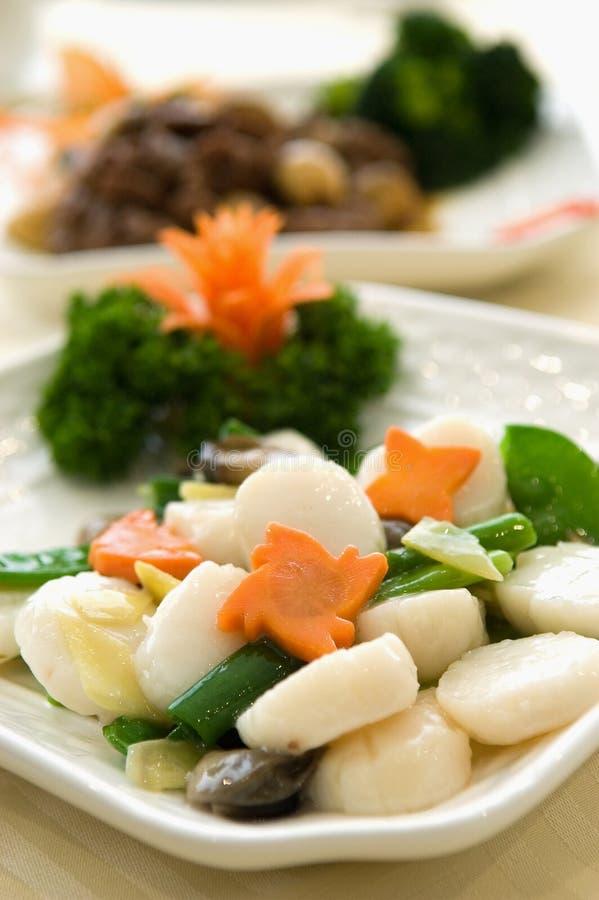 Download κρεμμύδι πιπεροριζών Scollops Στοκ Εικόνες - εικόνα από κουζίνα, dining: 382974
