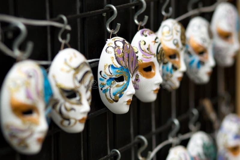 κρεμώντας μάσκες στοκ φωτογραφία με δικαίωμα ελεύθερης χρήσης