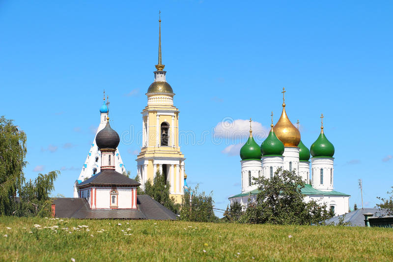 Κρεμλίνο σε Kolomna, περιοχή της Μόσχας, της Ρωσίας στοκ φωτογραφίες με δικαίωμα ελεύθερης χρήσης