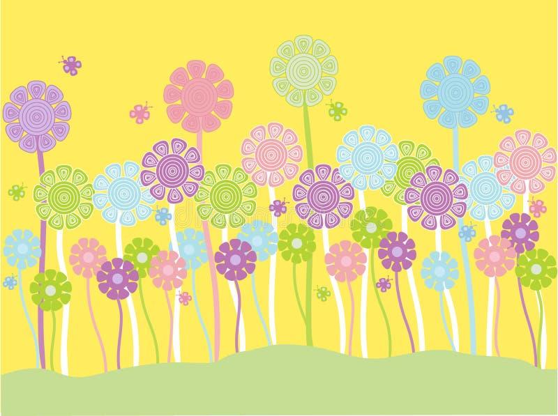 κρητιδογραφία λουλου& απεικόνιση αποθεμάτων