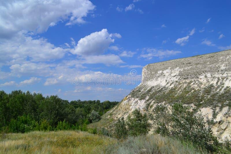 Κρητιδικός βράχος στοκ εικόνες με δικαίωμα ελεύθερης χρήσης