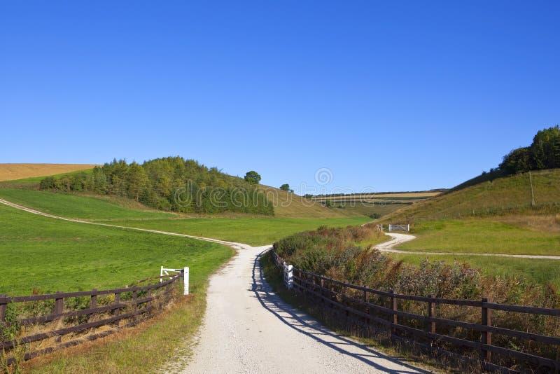 Κρητιδικός bridleway στοκ εικόνα