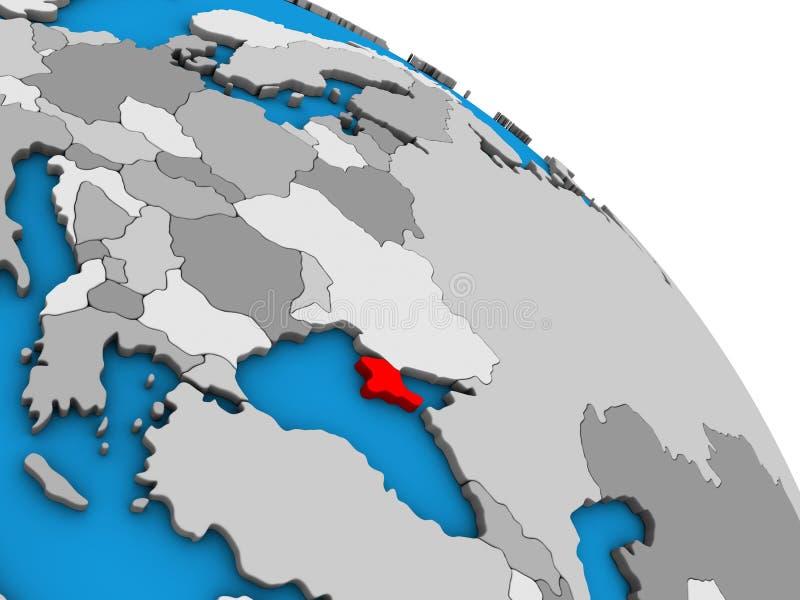 Κριμαία στην τρισδιάστατη σφαίρα ελεύθερη απεικόνιση δικαιώματος
