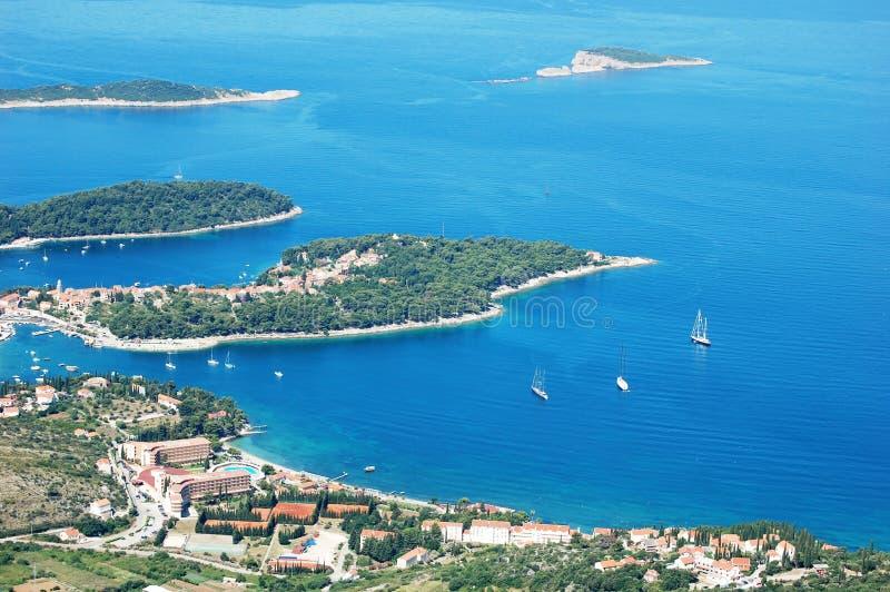 Κροατία στοκ εικόνες με δικαίωμα ελεύθερης χρήσης