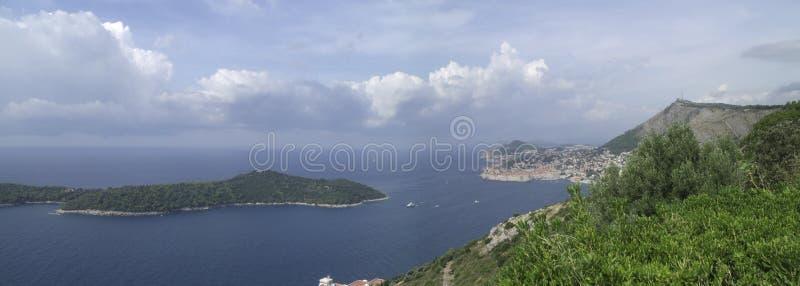 Κροατική ακτή στοκ εικόνα με δικαίωμα ελεύθερης χρήσης