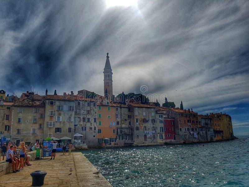Κροατική πόλη στοκ φωτογραφίες με δικαίωμα ελεύθερης χρήσης