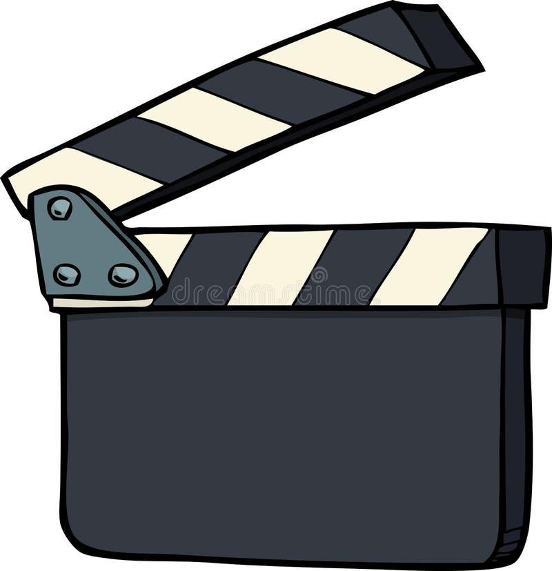 Κροτίδα κινηματογράφων Doodle ελεύθερη απεικόνιση δικαιώματος