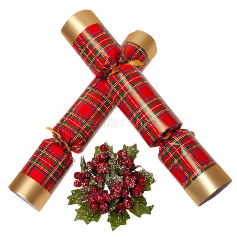 κροτίδα Χριστουγέννων στοκ εικόνα με δικαίωμα ελεύθερης χρήσης