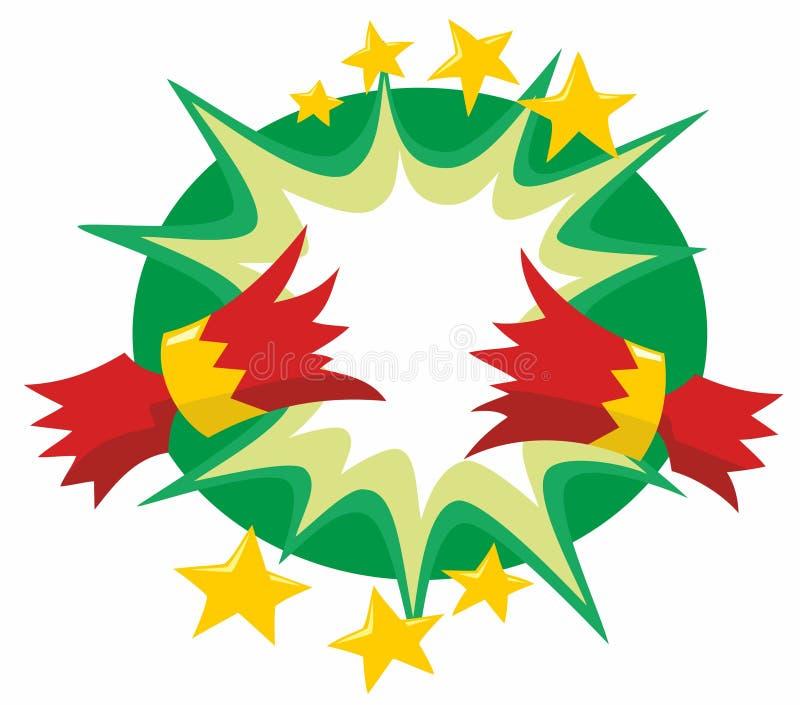 κροτίδα Χριστουγέννων που τραβιέται απεικόνιση αποθεμάτων