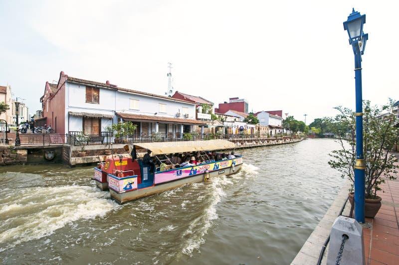Κρουαζιέρα ποταμών Melaka στοκ εικόνες με δικαίωμα ελεύθερης χρήσης