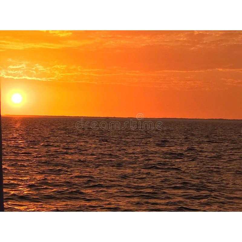Κρουαζιέρα Sunset στοκ φωτογραφία με δικαίωμα ελεύθερης χρήσης