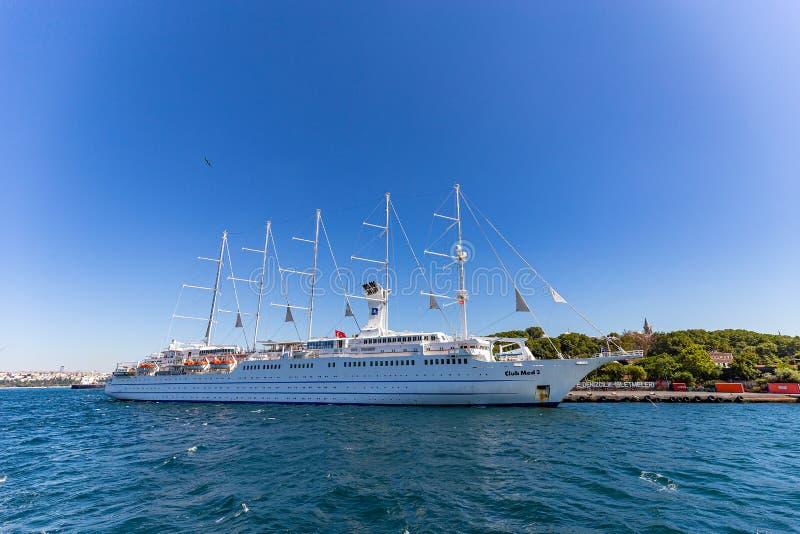 Κρουαζιερόπλοιο Club Med 2 στοκ εικόνα