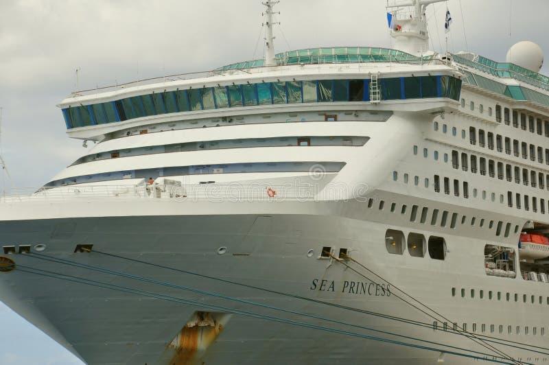 Κρουαζιερόπλοιο πριγκηπισσών θάλασσας στοκ εικόνες