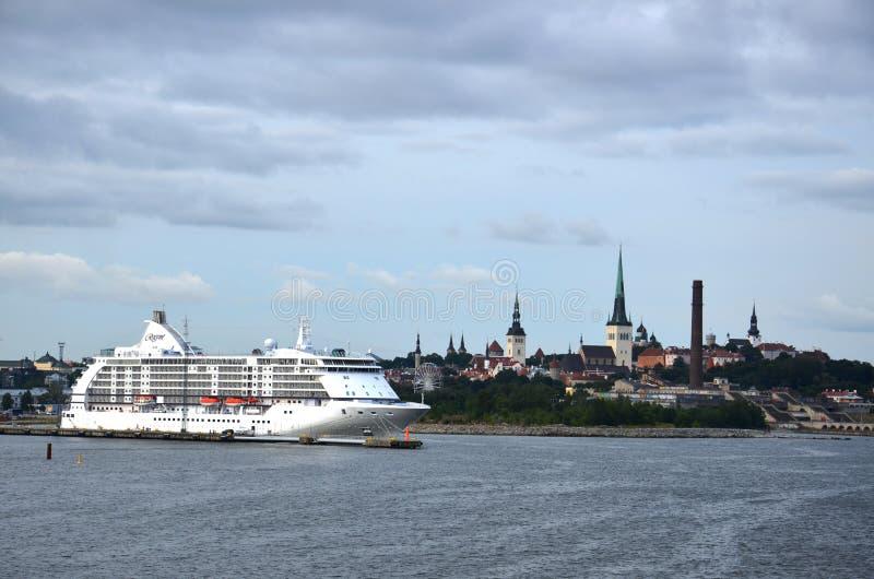 Κρουαζιερόπλοιο της Νορβηγίας te στοκ φωτογραφίες με δικαίωμα ελεύθερης χρήσης