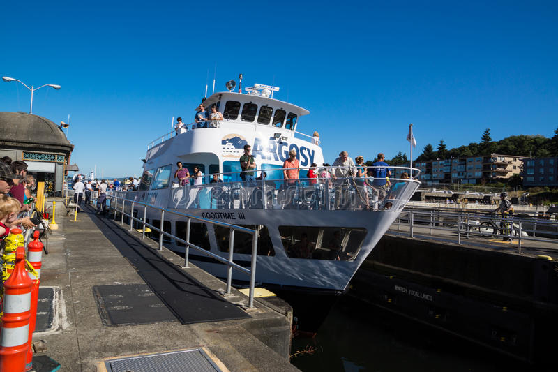 Κρουαζιερόπλοιο Argosy κλειδαριών Ballard στοκ εικόνα με δικαίωμα ελεύθερης χρήσης