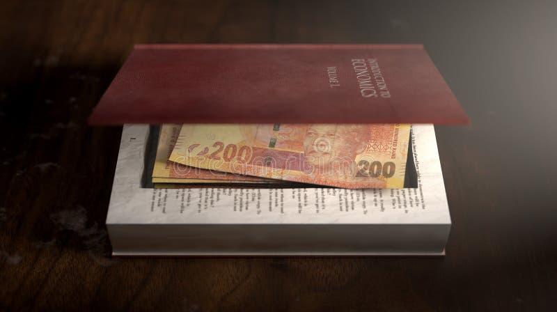 Κρυμμένες σημειώσεις σε ένα βιβλίο στοκ εικόνα
