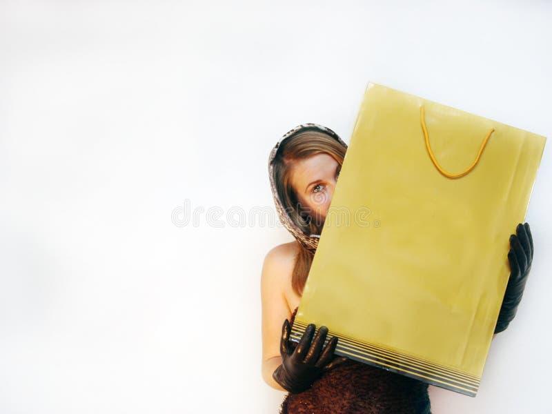 κρυμμένη γυναίκα στοκ εικόνα