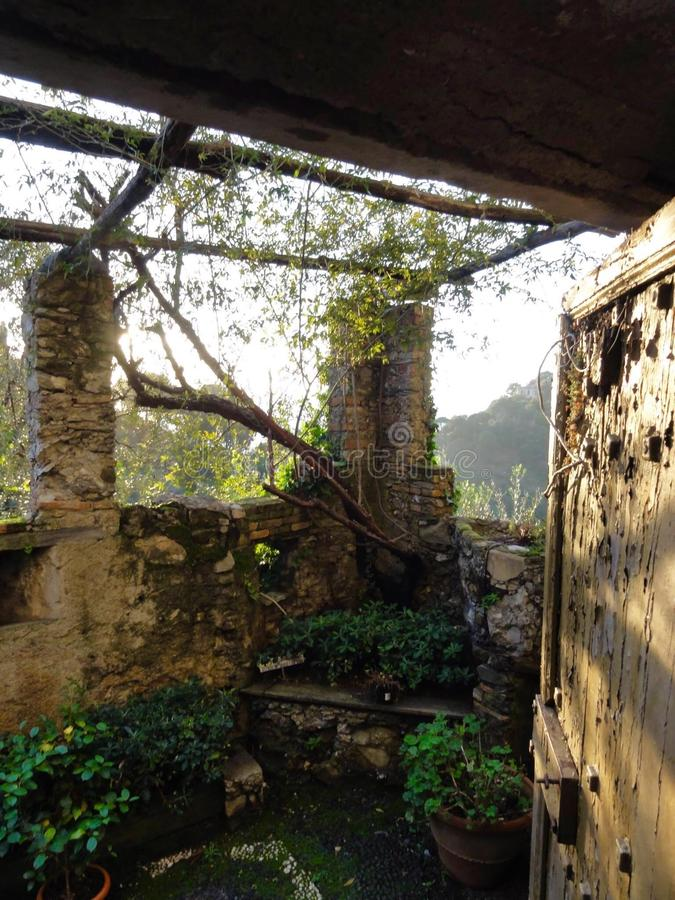 Κρυμμένοι κήποι στοκ φωτογραφία με δικαίωμα ελεύθερης χρήσης