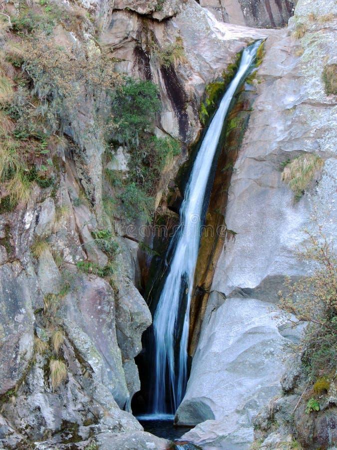 Κρυμμένος καταρράκτης στο Λα Cumbrecita στοκ εικόνες με δικαίωμα ελεύθερης χρήσης