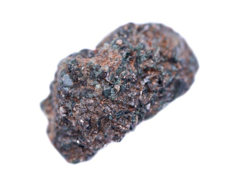 Κρυσταλλωμένος alexandrite από την Τανζανία στοκ εικόνες
